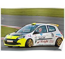 Alex Osbourne Renault Clio Poster
