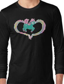 Unicorn Rainbow Long Sleeve T-Shirt