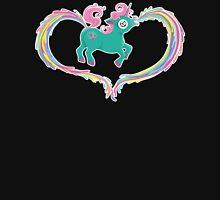 Unicorn Rainbow Womens Fitted T-Shirt