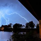 Nepean River Lightning Storm by Andrew McNeil