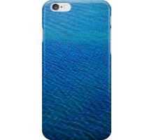 sea ripples iPhone Case/Skin