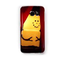 Marshmallow Snowman  Samsung Galaxy Case/Skin