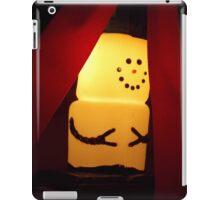 Marshmallow Snowman  iPad Case/Skin