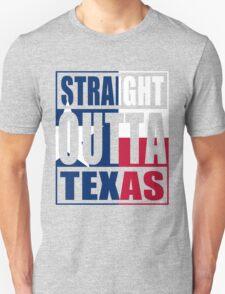 Straight Outta Texas Flag Unisex T-Shirt