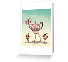 The Teapostrish Family Greeting Card