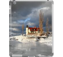 Winter at Point Betsie Lighthouse iPad Case/Skin