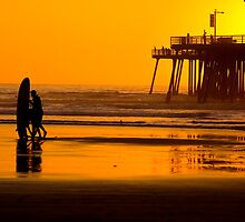 Pismo beach by Alain Robillard