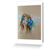 Forget Me Not, Little Faery Greeting Card