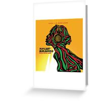 ATCQ A TRIBE CALLED QUEST DAYLIGHT MARAUDERS Greeting Card