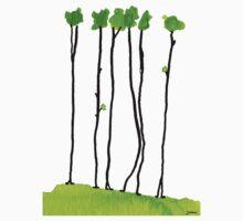 Truely long tree trunks Kids Tee