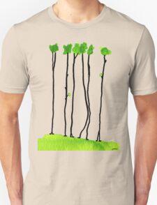 Truely long tree trunks Unisex T-Shirt