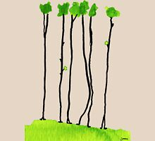 Truely long tree trunks Womens Fitted T-Shirt