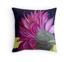Here I Lie Motionless Throw Pillow