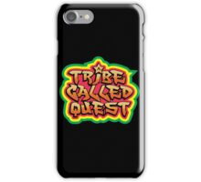 A ATCQ TRIBE CALLED QUEST RASTA HIP HOP iPhone Case/Skin