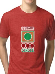 CIRCLE Tri-blend T-Shirt