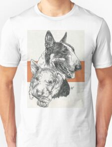 Bull Terrier Father & Son T-Shirt