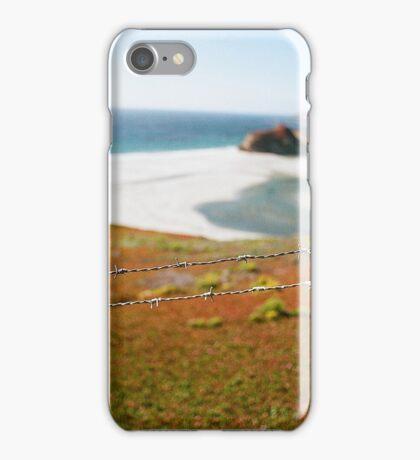 Barbed coast iPhone Case/Skin