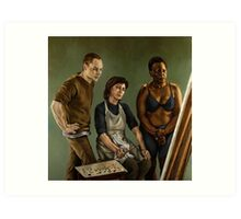 The Painting Art Print