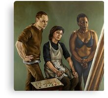 The Painting Metal Print