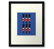 Royal British Guard Framed Print
