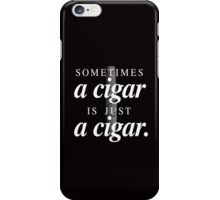 Freud's cigar iPhone Case/Skin