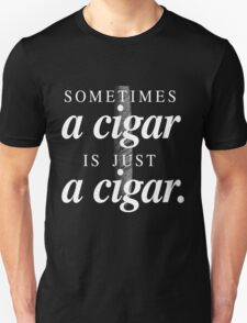 Freud's cigar Unisex T-Shirt