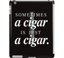 Freud's cigar iPad Case/Skin