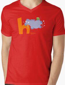 h for hippo Mens V-Neck T-Shirt
