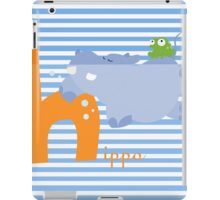 h for hippo iPad Case/Skin