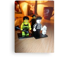 MINI LEGO Metal Print