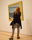 PEOPLE AT AN EXHIBITION 0057 by Thomas Barker-Detwiler