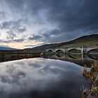 The Wharfe At Burnsall Bridge by SteveMG