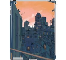 Cityscape in the Evening iPad Case/Skin
