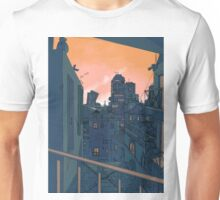 Cityscape in the Evening Unisex T-Shirt