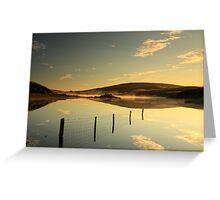 Vanishing Lake.  Greeting Card