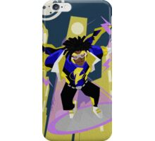 Detective Comics Presents: Superhero Static Shock! iPhone Case/Skin