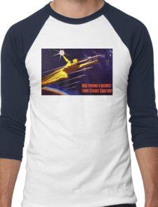 USSR Propaganda - Sputnik Men's Baseball ¾ T-Shirt
