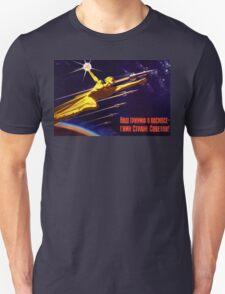 USSR Propaganda - Sputnik Unisex T-Shirt