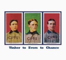 Tinker to Evers to Chance! Chicago T-Shirt by ItsNextYear