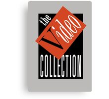 The Video Collection Canvas Print