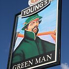Pub Sign Collection: Green Man by ellismorleyphto