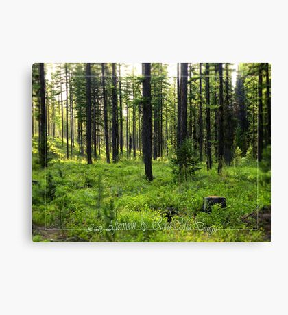 Lazy Afternoon Canvas Print