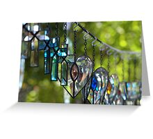 Lovely Crystal Greeting Card