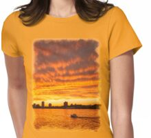 In Sunset's Wake Womens Fitted T-Shirt