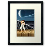 Street Fighter Ryu Framed Print