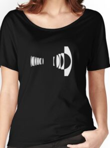 Canon 8-15mm f/4.0 Fisheye Women's Relaxed Fit T-Shirt