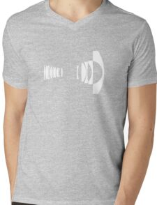 Canon 8-15mm f/4.0 Fisheye Mens V-Neck T-Shirt