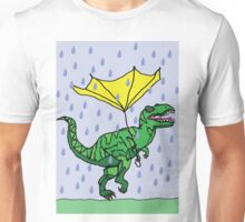 Dino has a bad day Unisex T-Shirt