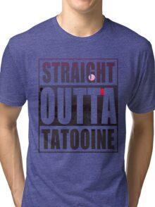 Retro Straight Outta Tatooine Tri-blend T-Shirt
