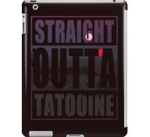 Retro Straight Outta Tatooine iPad Case/Skin